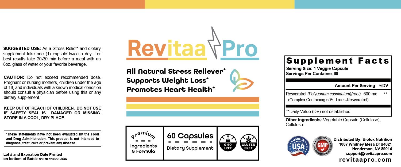 Revitaa Pro Label